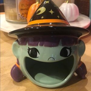 Target Ceramic Witch Open Mouth Candy Dish
